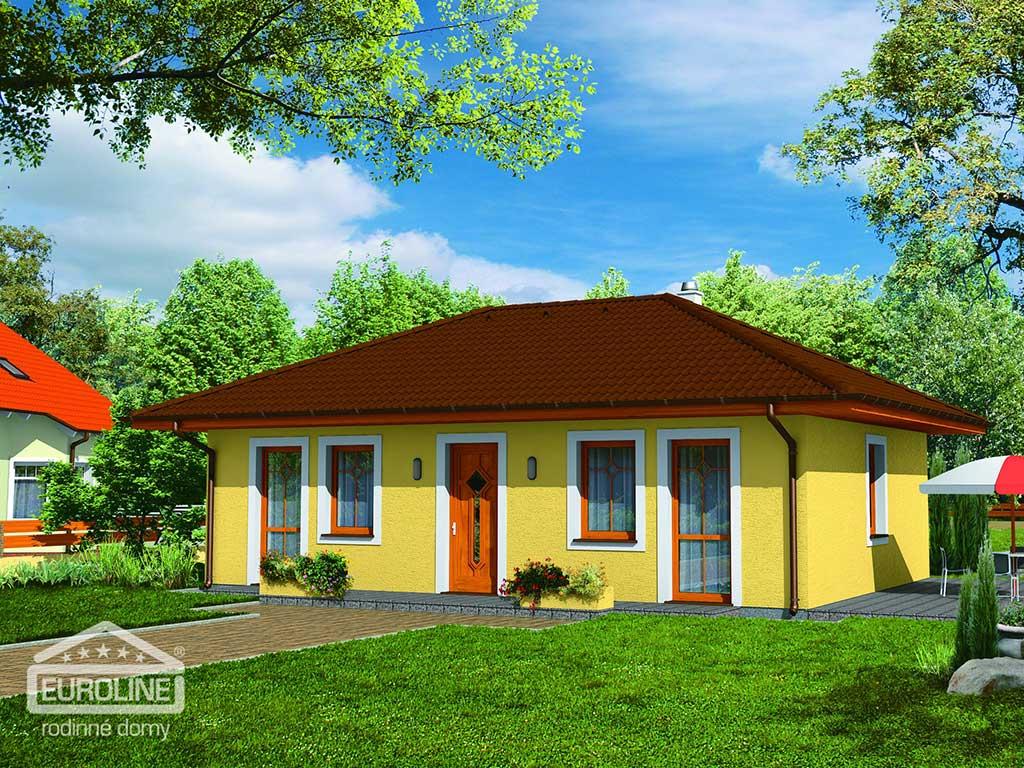 Nízkoenergetický dom - BUNGALOV 065 - domprevsetkych.sk