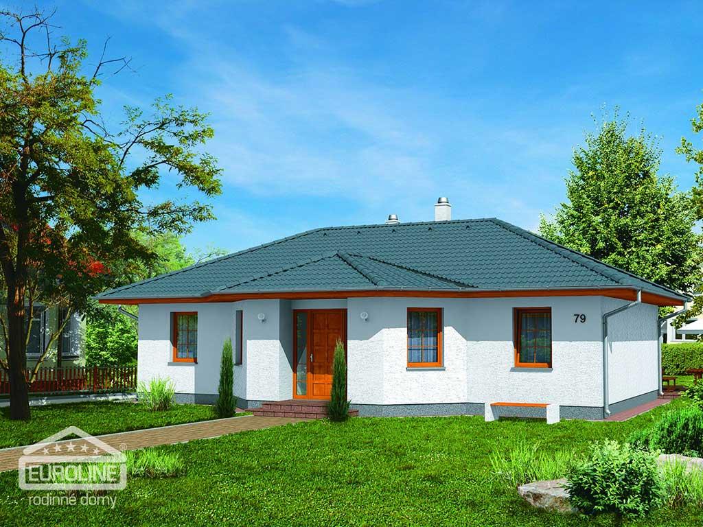 Nízkoenergetický dom - BUNGALOV 079 - domprevsetkych.sk