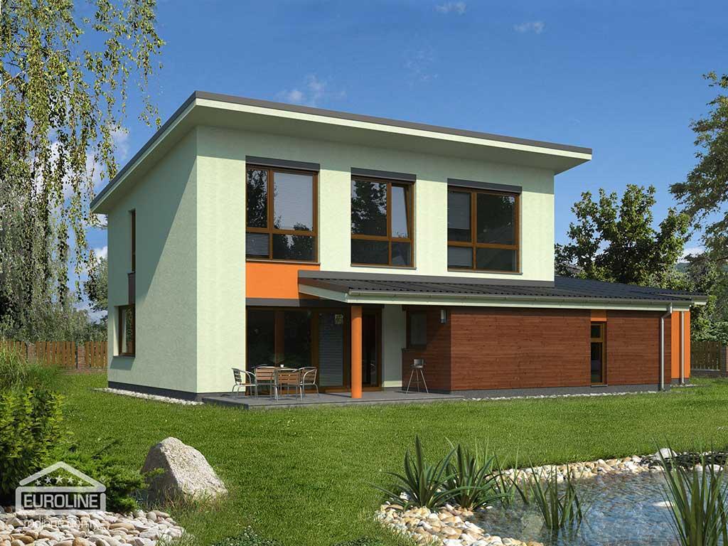 Nízkoenergetický dom - EKOLINE 1037 - domprevsetkych.sk