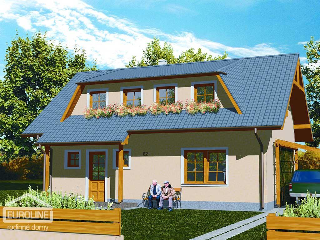 Nízkoenergetický dom - PRAKTIK 062 - domprevsetkych.sk