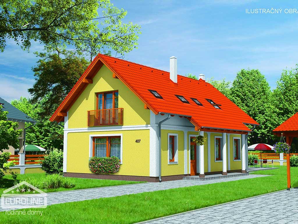 Nízkoenergetický dom - RUSTIKAL 407 - domprevsetkych.sk