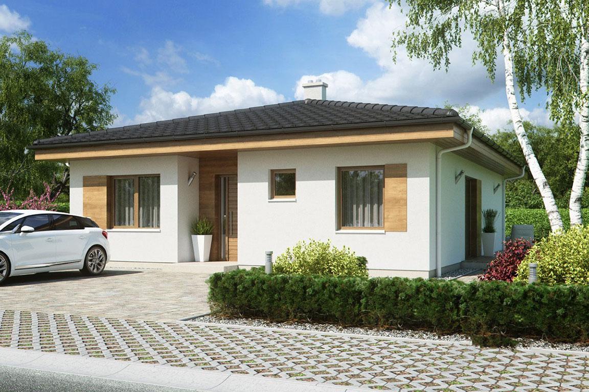 Nízkoenergetický dom - Wooden House – 100 - domprevsetkych.sk