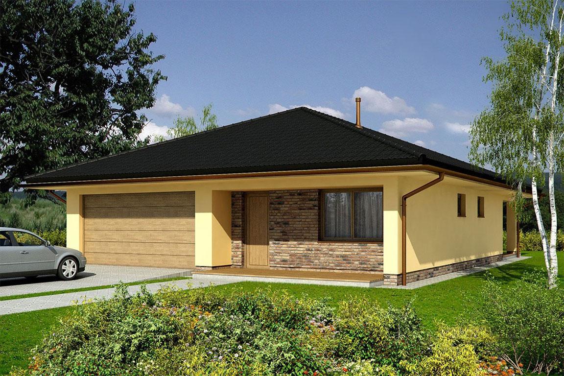 Nízkoenergetický dom - Wooden House – 114 - domprevsetkych.sk