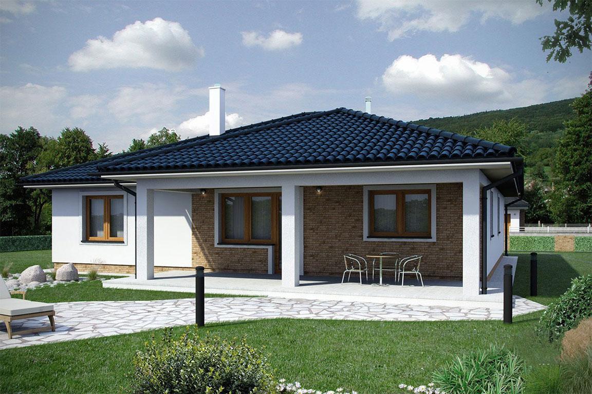 Nízkoenergetický dom - Wooden House – 115 - domprevsetkych.sk