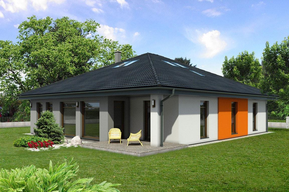 Nízkoenergetický dom - Wooden House – 117 - domprevsetkych.sk
