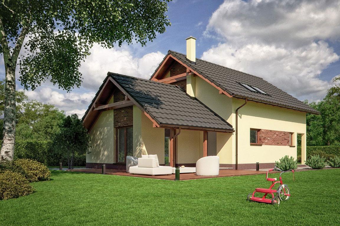 Nízkoenergetický dom - Wooden House – 119 - domprevsetkych.sk