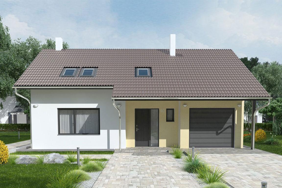 Nízkoenergetický dom - Wooden House – 120 - domprevsetkych.sk
