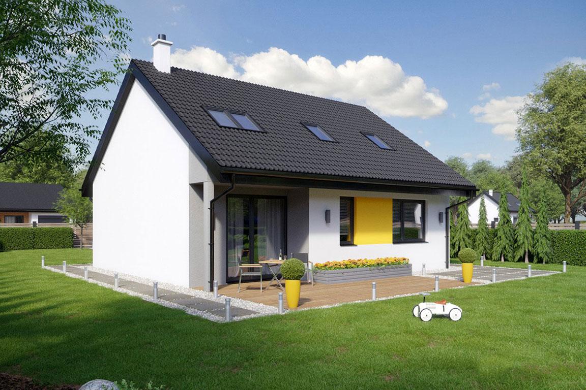 Nízkoenergetický dom - Wooden House – 122 - domprevsetkych.sk