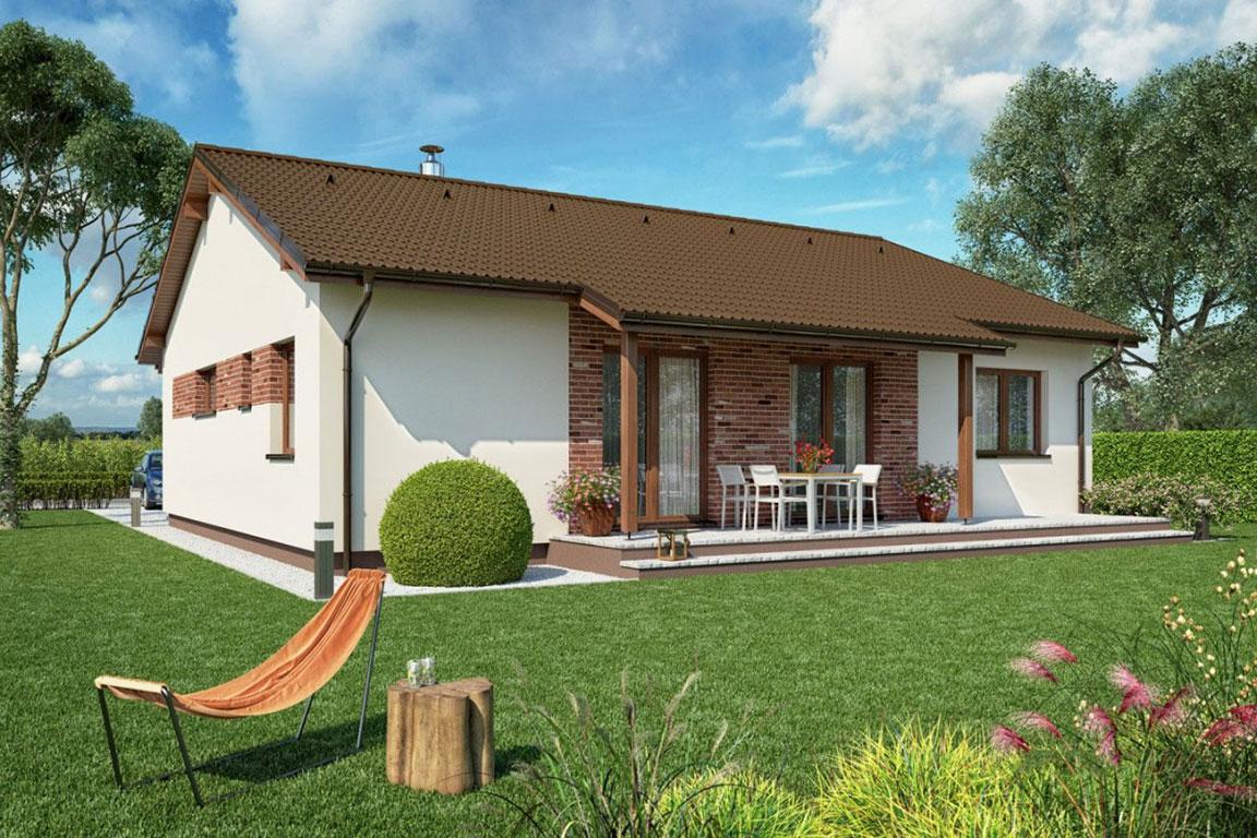 Nízkoenergetický dom - Wooden House – 124 - domprevsetkych.sk