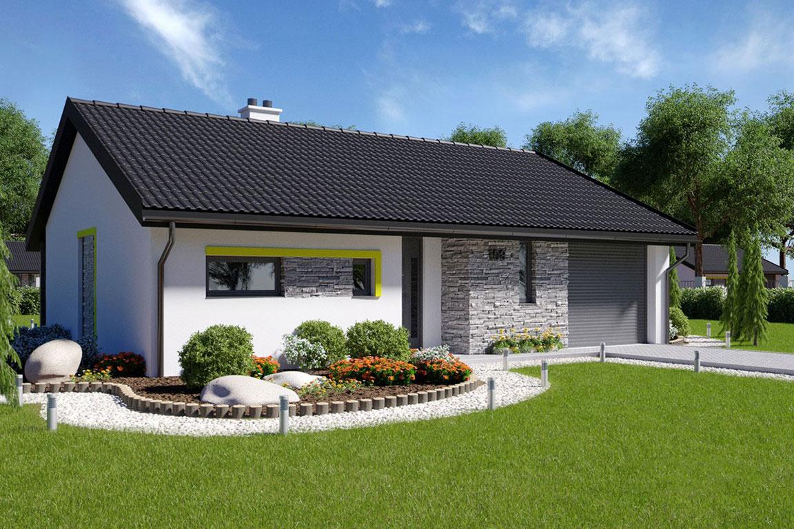 Nízkoenergetický dom - Wooden House – 125 - domprevsetkych.sk