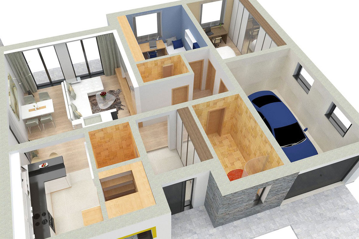 Wooden House – 125
