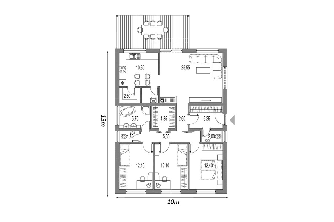 Wooden House – 126
