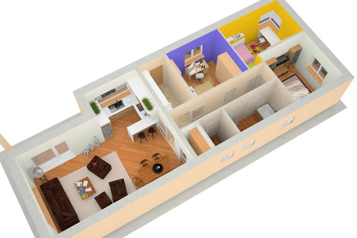 Wooden House – 127