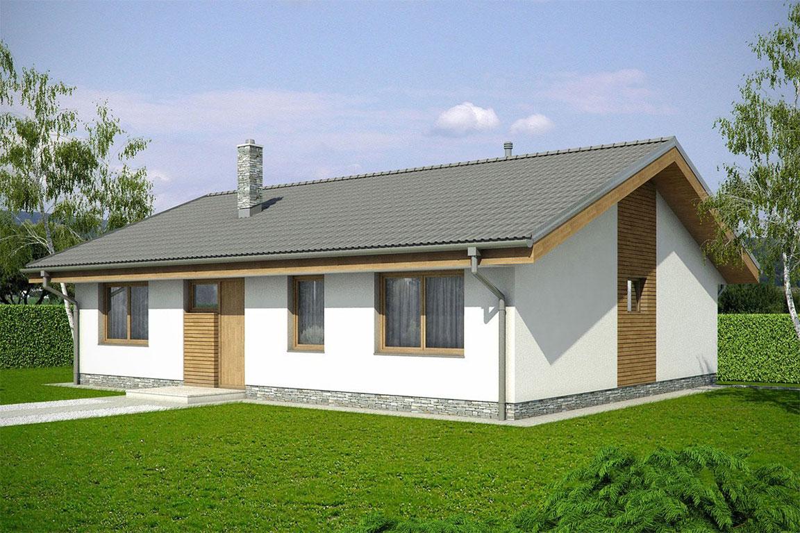 Nízkoenergetický dom - Wooden House – 128 - domprevsetkych.sk