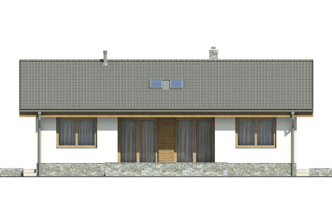 Wooden House – 128
