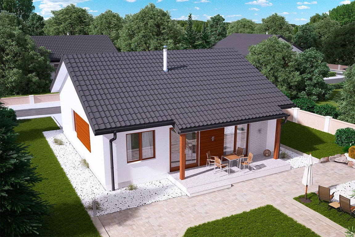 Nízkoenergetický dom - Wooden House – 130 - domprevsetkych.sk