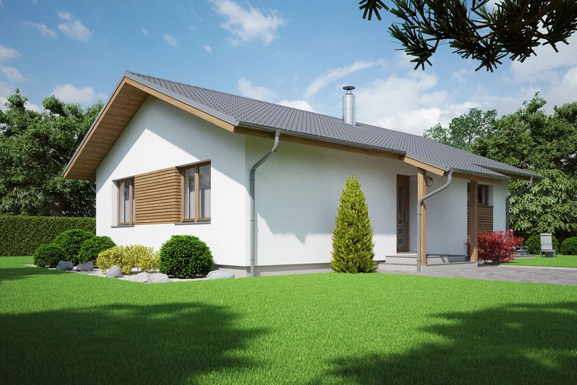 Nízkoenergetický dom - Wooden House – 131 - domprevsetkych.sk