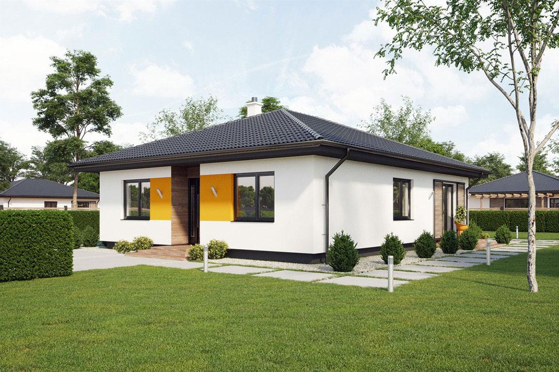 Nízkoenergetický dom - Wooden House – 101 - domprevsetkych.sk